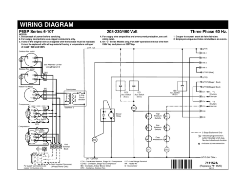 small resolution of wiring diagram three phase 60 hz p6sp series 6 10t
