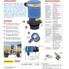 4 Wire Ultrasonic Level Transmitter 2004 Pontiac Grand Prix Parts Diagram Echotouch Two Application Manualzz Com