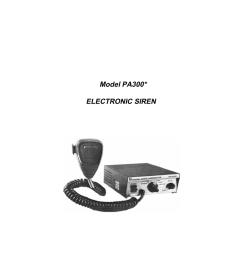 model pa300 electronic siren [ 791 x 1024 Pixel ]