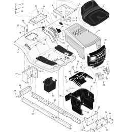 murray 40508x92h riding mower illustrated parts list manualzz com system diagram and parts list for murray ridingmowertractor [ 791 x 1024 Pixel ]