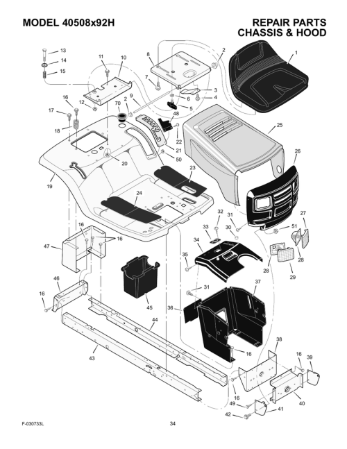 small resolution of murray 40508x92h riding mower illustrated parts list manualzz com system diagram and parts list for murray ridingmowertractor
