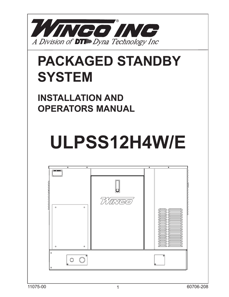 hight resolution of winco pss12 4 wire operation manual