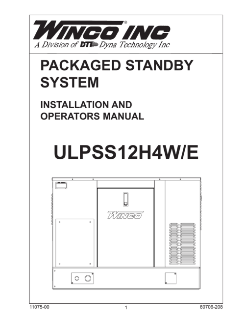 small resolution of winco pss12 4 wire operation manual