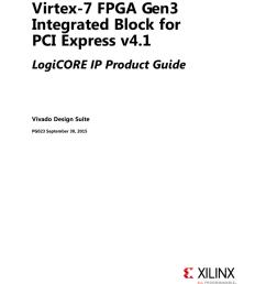 virtex 7 fpga gen3 integrated block for pci express v4 1 logicore ip product guide [ 791 x 1024 Pixel ]