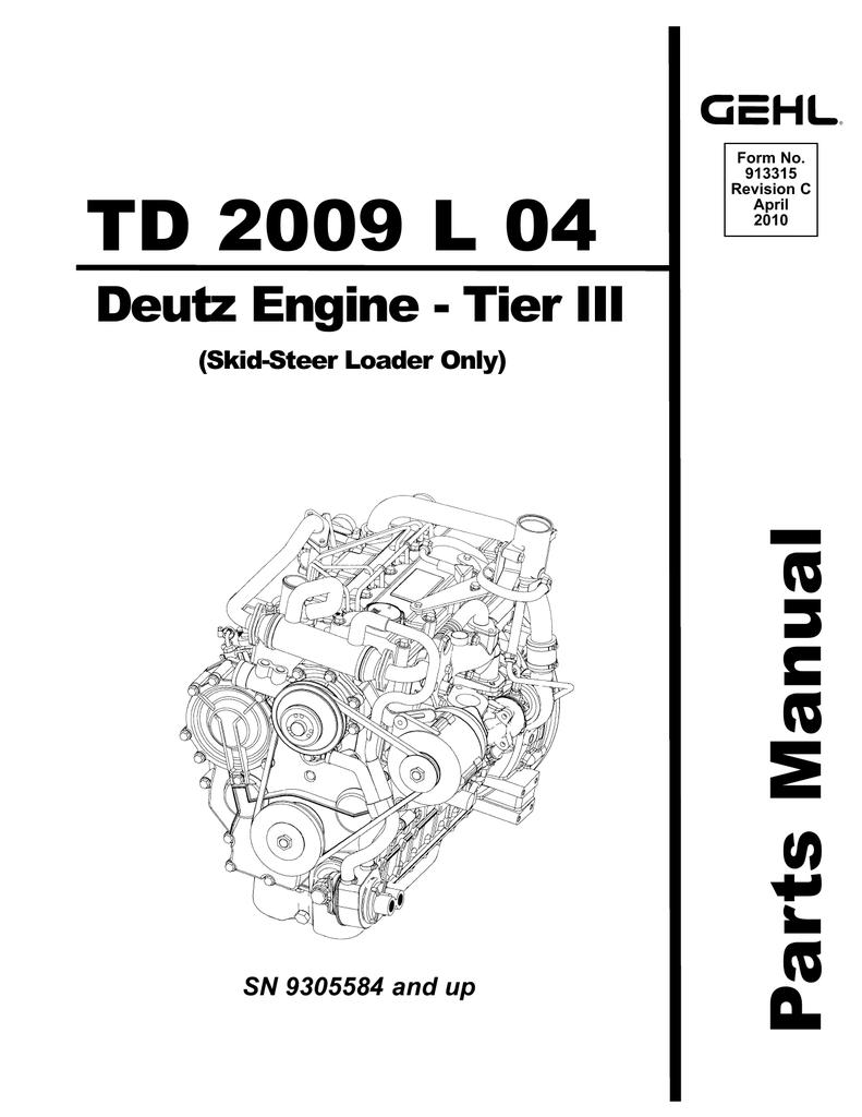 Deutz Engine Diagram
