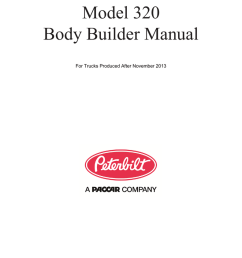 peterbilt 320 builder manual manualzz com on peterbilt 320 engine mack mr wiring  [ 791 x 1024 Pixel ]