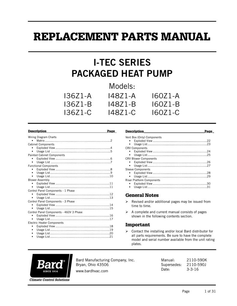 medium resolution of i tec series packaged heat pump models i36z1 a