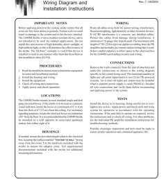 www leedan com info leedan com toll free 800 231 1414 li 404b strobe wiring diagram and installation instructions in 554 section a rev  [ 791 x 1024 Pixel ]