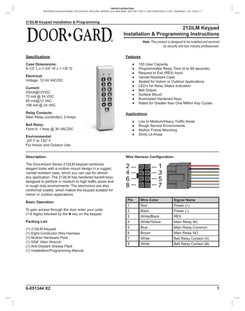 small resolution of  iei keypad on wiring diagram on 6051344 manualzz com on