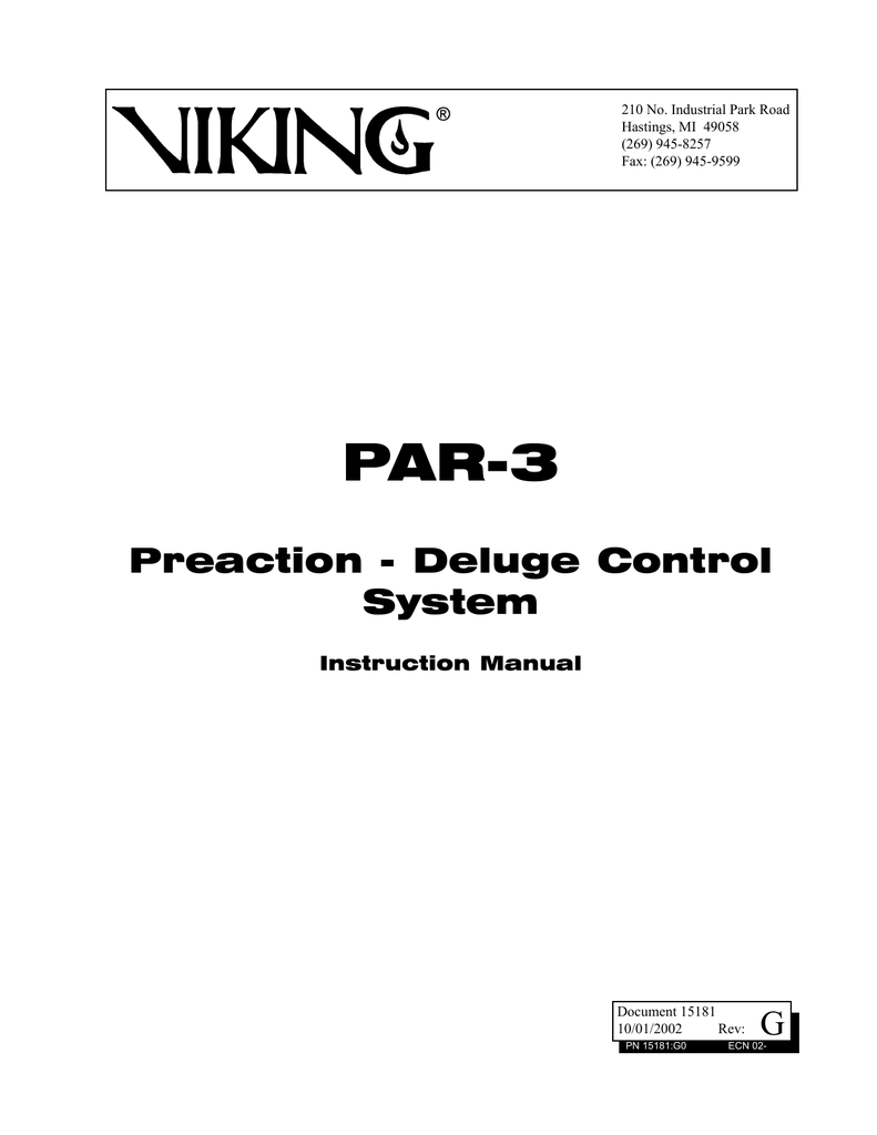 hight resolution of par 3 instruction manual ansul autopulse 442r