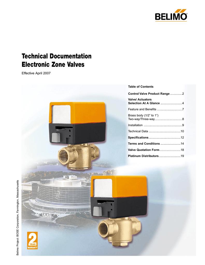 hight resolution of technical documentation electronic zone valves effective april 2007 manualzz com