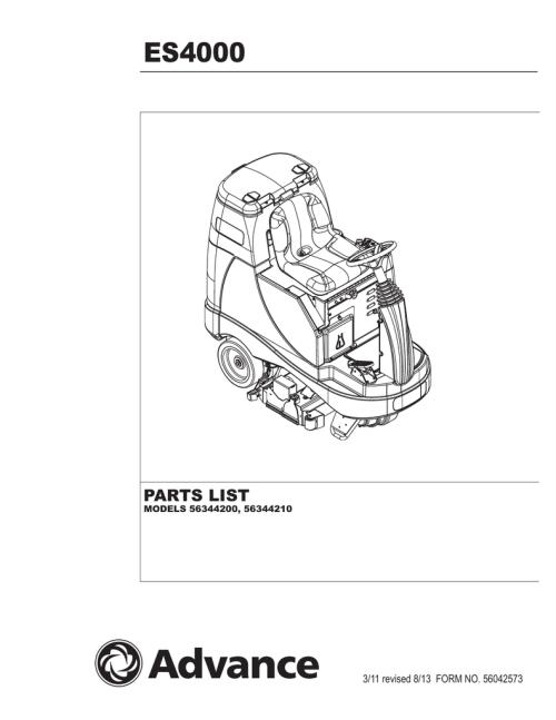 small resolution of es4000 rider extractor rev 813 parts