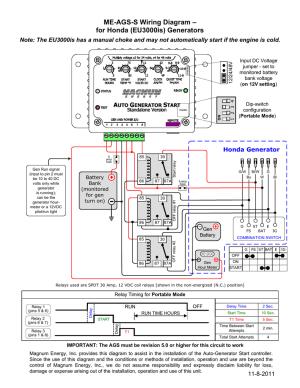 Honda Portable Generator Wiring Diagram  Wiring Solutions