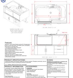 adlt6035 adl spa tub electronic touch control drawing [ 791 x 1024 Pixel ]