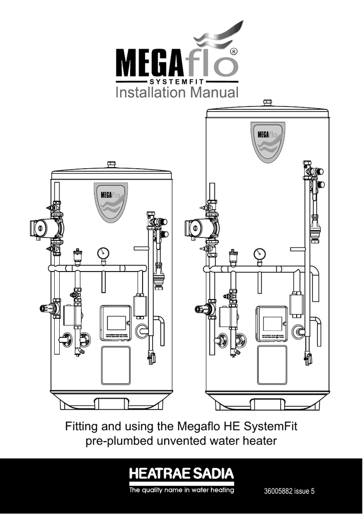 Fitting and using the Megaflo HE SystemFit pre-plumbed