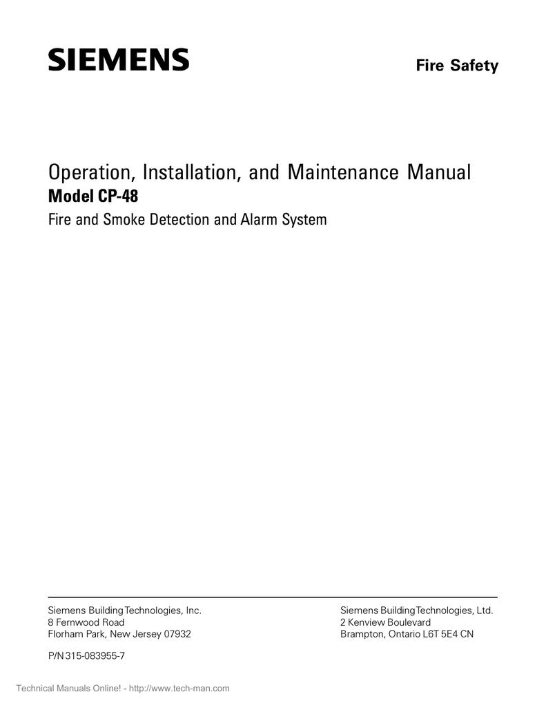 medium resolution of siemens cp 48 operation installation manual