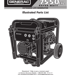 generac parts listing 01470 [ 791 x 1024 Pixel ]