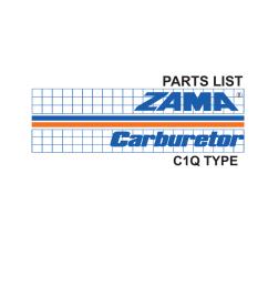 zama c1q illustrated parts list [ 791 x 1024 Pixel ]