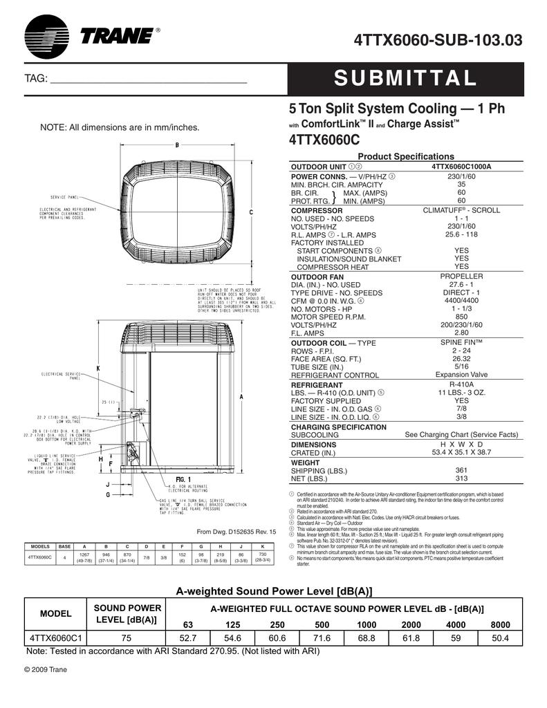 Wiring Diagram Trane Xl20I / Air Conditioners Ac Units