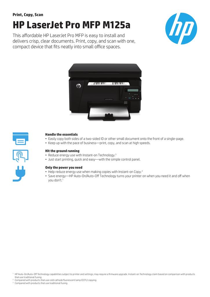 Download Driver Printer Hp Laserjet Pro Mfp M125a : download, driver, printer, laserjet, m125a, LaserJet, M125a, Manualzz