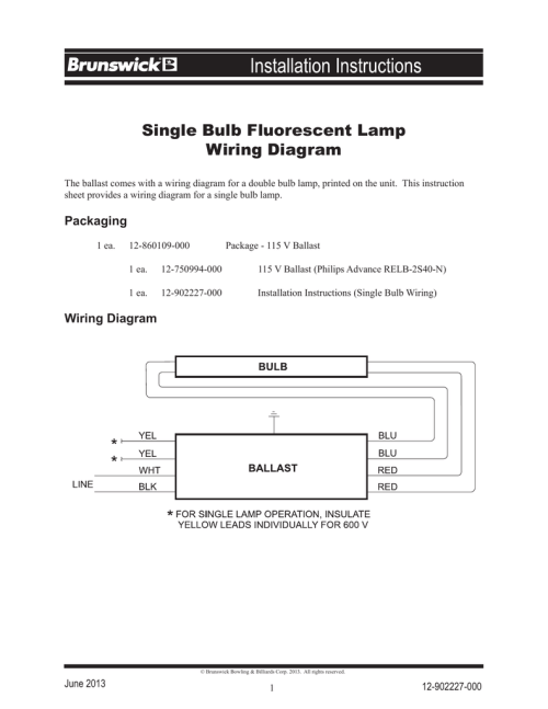 small resolution of fluorescent wiring diagram manual start