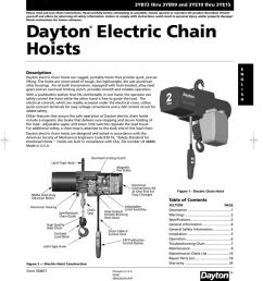 daytonelectricchain manualzz com dayton 1 ton electric chain hoist wiring diagram dayton hoist wiring diagram [ 822 x 1024 Pixel ]