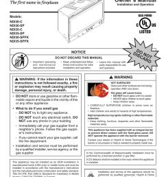 heatilator ndi30 ndi35 install manual [ 791 x 1024 Pixel ]