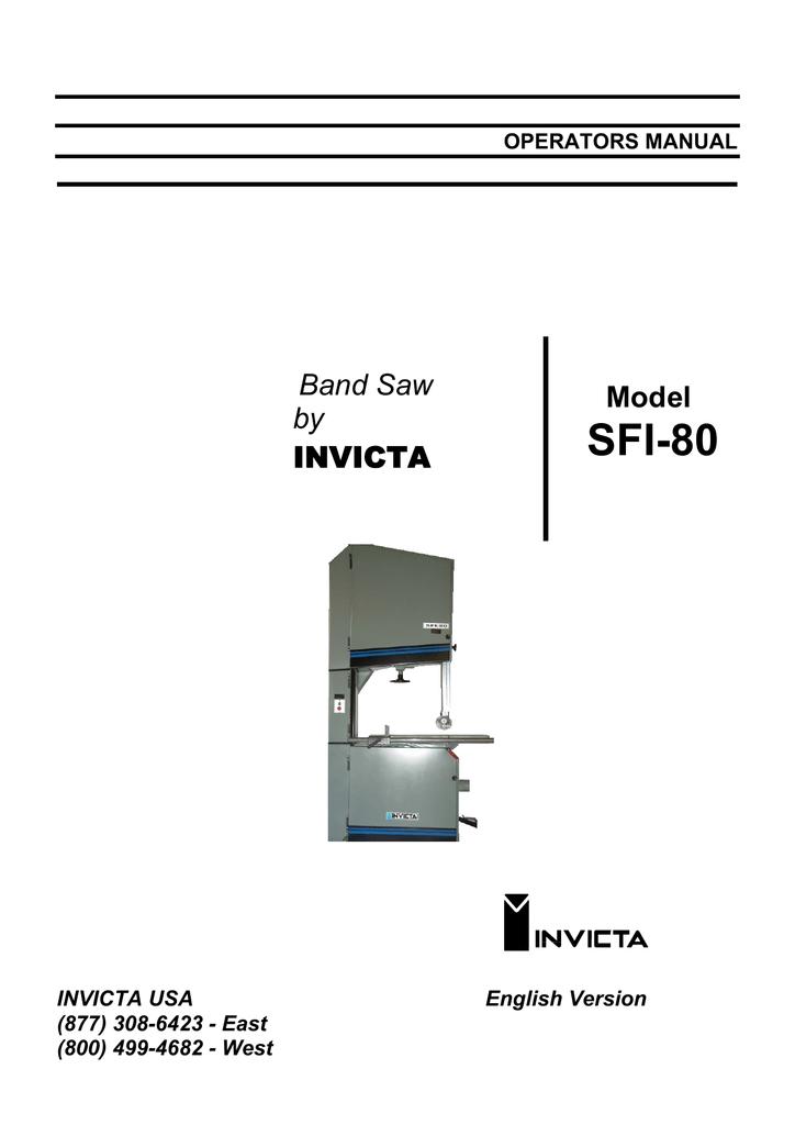 Invicta SFI-80 32