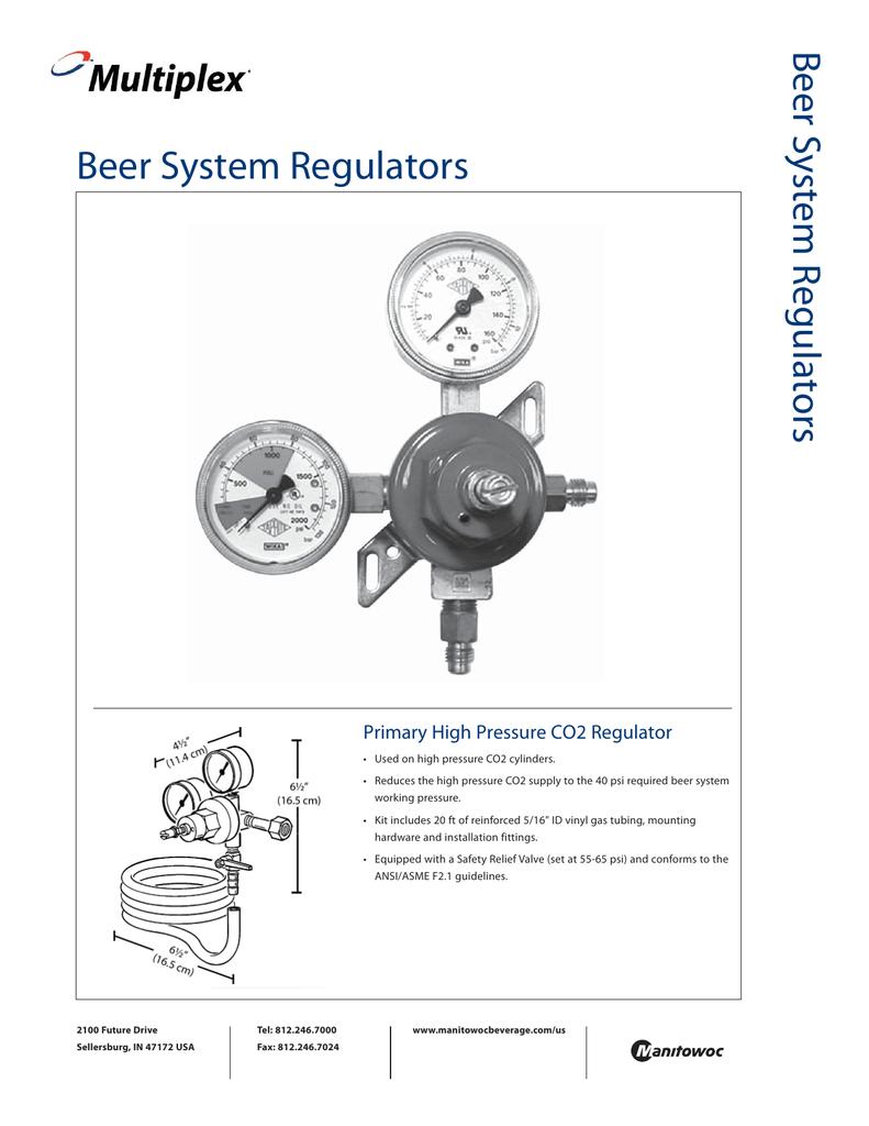 hight resolution of co2 regulator diagram