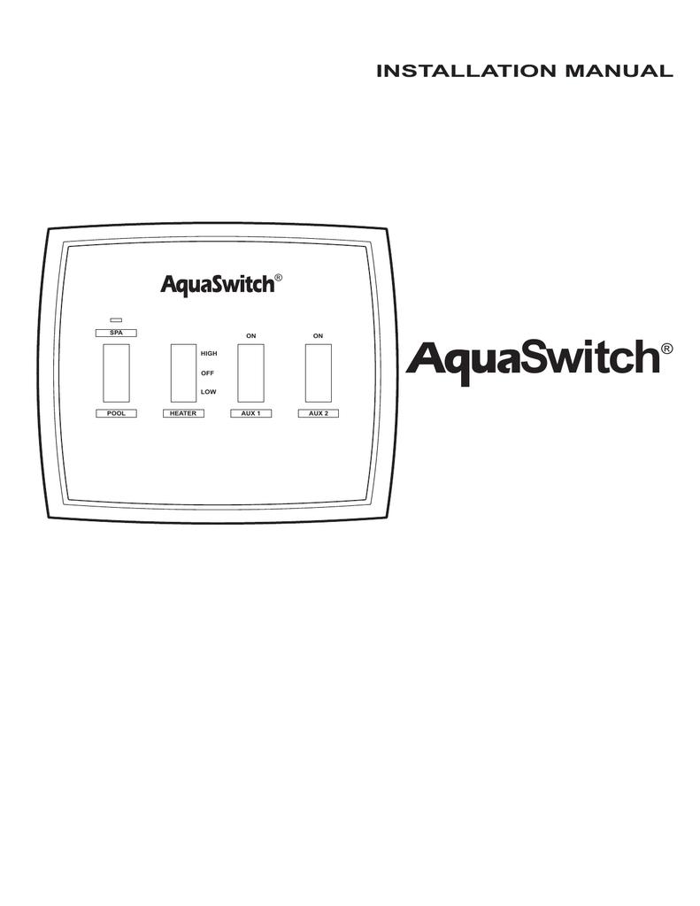 hight resolution of aquaswitch installation manual