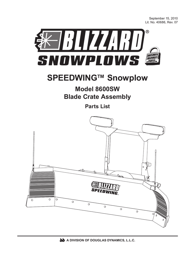 medium resolution of blizzard parts list speedwing snowplow plow side blade and off truck components