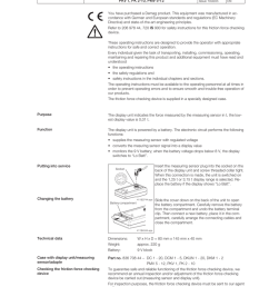 demag friction force checking 20697444d0205 manualzz com on power transfer switch diagram asco transfer  [ 791 x 1024 Pixel ]
