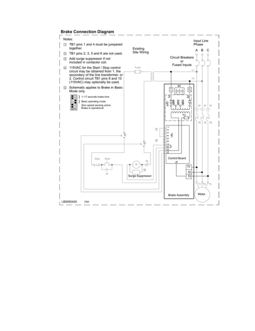 small resolution of dc injection brake connection diagram