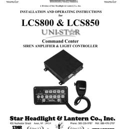 lcs800 lcs850 command center siren amplifier light controller [ 791 x 1024 Pixel ]