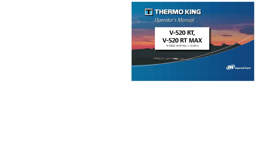 thermo king v520 wiring diagram 1964 dodge dart v 520 rt max operator s manual manualzz com
