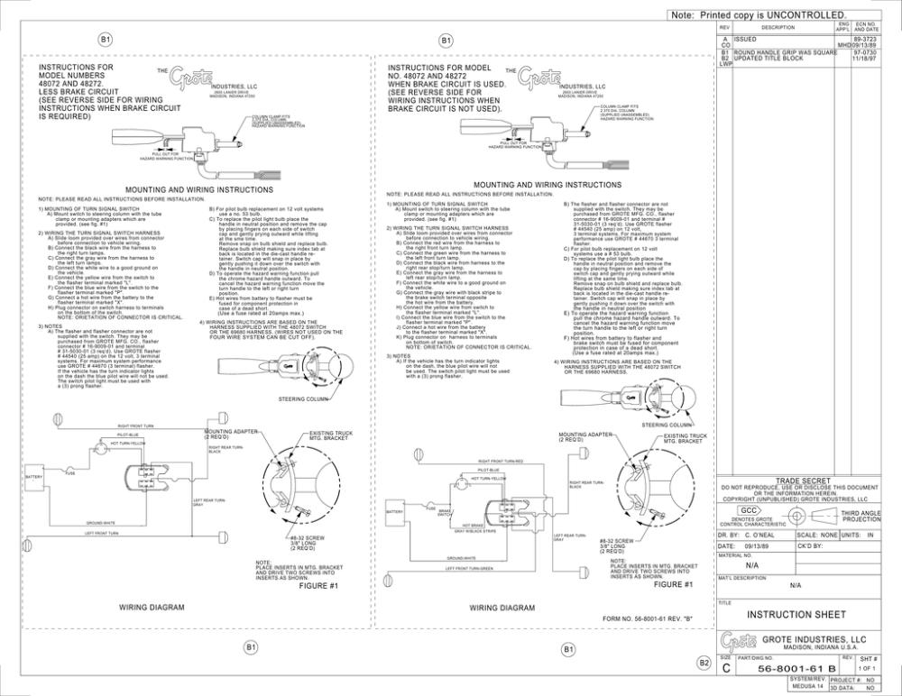 medium resolution of 48072 turn signal switch wiring diagram