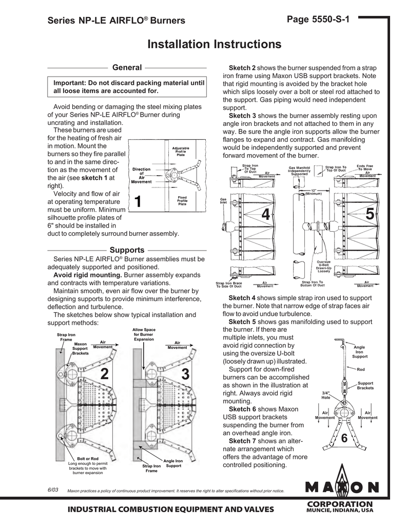 hight resolution of maxon nple airflo iom 2003 06