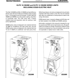 cb29m cb30m service literature elite 10 cb29m and elite 12 cb30m series units manualzz  [ 791 x 1024 Pixel ]
