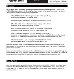 wiring overview grafik eye 3000 series and emergency transfer [ 791 x 1024 Pixel ]