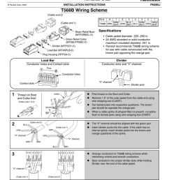 t568b wiring scheme tx6 plus modular plug t568b amp t568a specifications [ 791 x 1024 Pixel ]