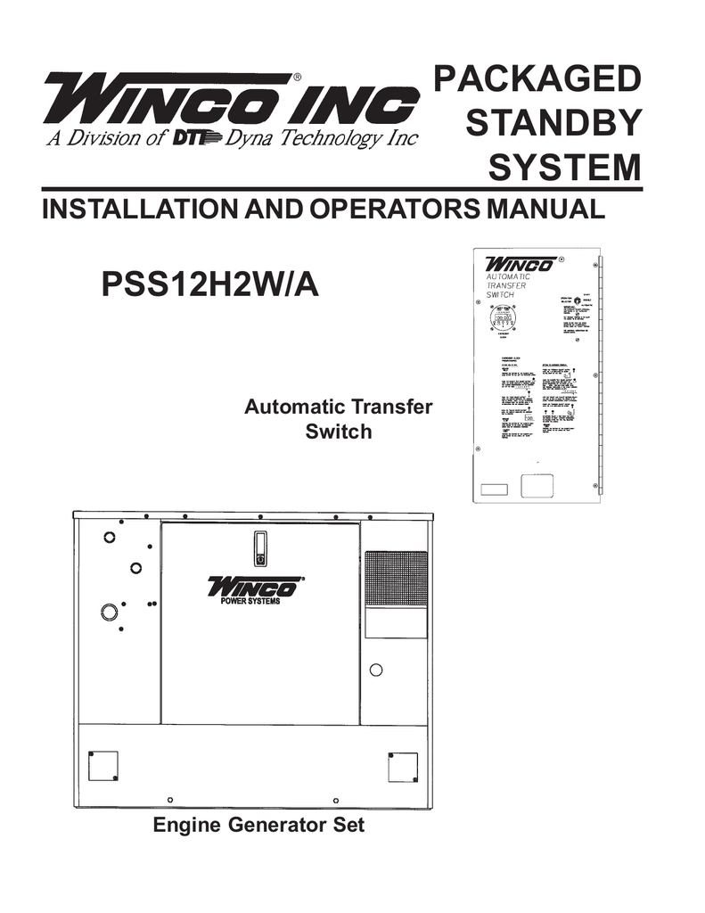 medium resolution of 60706 165 operators manual pss12h2w a
