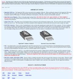 signalink jumper settings wiring information [ 791 x 1024 Pixel ]