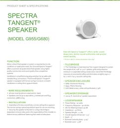 form tangent speaker data sheet [ 791 x 1024 Pixel ]