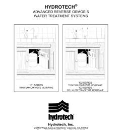 hydrotech reverse osmosis manual [ 791 x 1024 Pixel ]