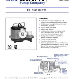 8 series manualzz com submersible sump pump diagram big john submersible sump pump source little giant  [ 791 x 1024 Pixel ]
