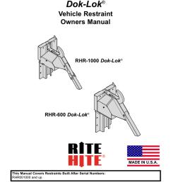 current generation rhr600 1000 combined owner s manual publication no 1208  [ 791 x 1024 Pixel ]