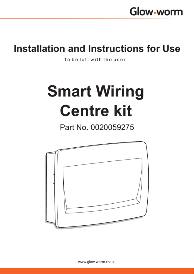 smart wiring centre installation and user s manual  manualzz