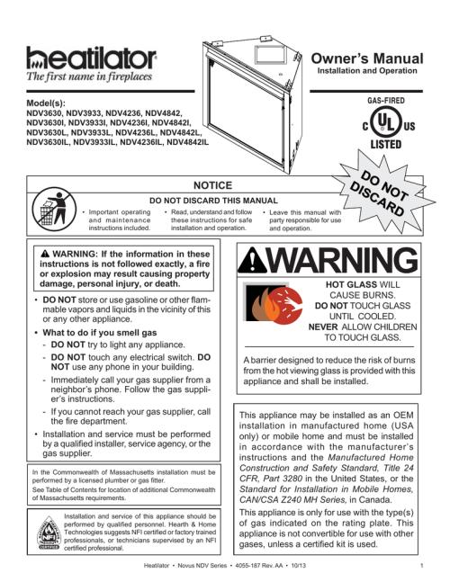 small resolution of novus 36 installation manual