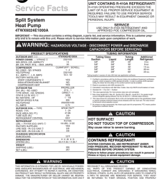 trane xl16i heat pump service facts manualzz com trane xl16i wiring diagram [ 791 x 1024 Pixel ]