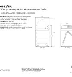 gtw860ssj spj ge 5 1 doe cu ft capacity washer with stainless steel basket [ 1024 x 791 Pixel ]